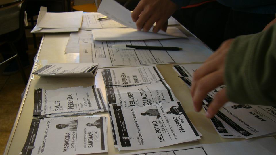 Voto Joven en las Elecciones 2015