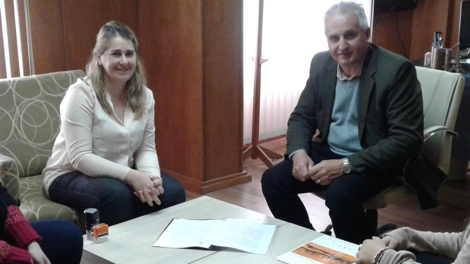 Firma de Convenio con la ONG OASIS