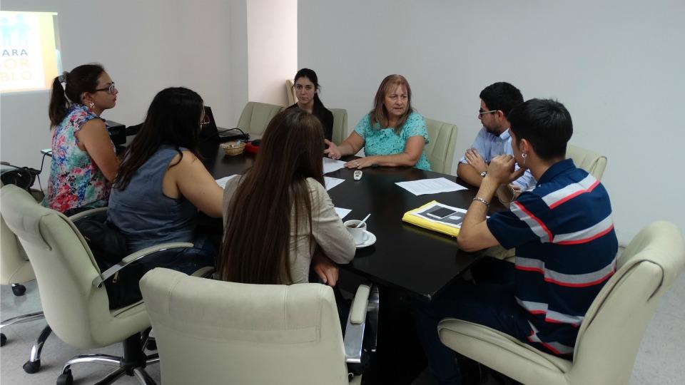 1° reunión informativa con practicantes