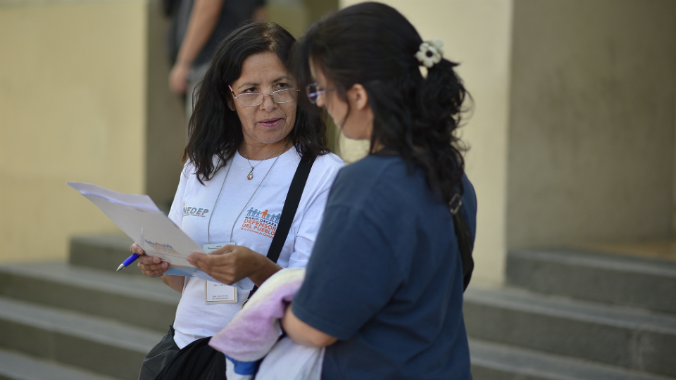 Defensor observará elección en Marcos Juárez