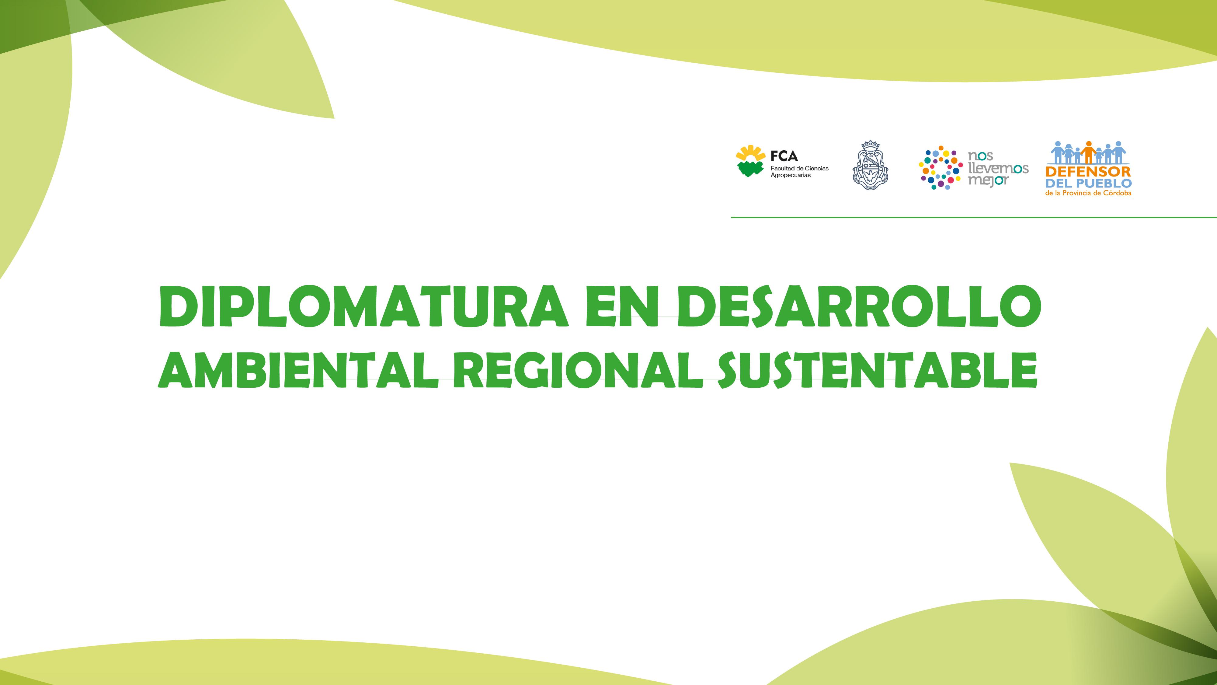 6° Edición Diplomatura en Desarrollo Ambiental